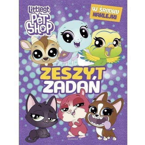 Książki dla dzieci, Littlest Pet Shop Zeszyt zadań - Praca zbiorowa