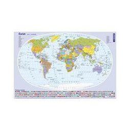 Podkładka na biurko Mapa świata. Darmowy odbiór w niemal 100 księgarniach!