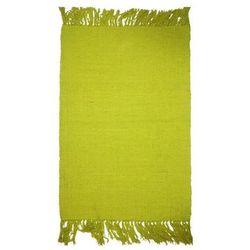 Dywanik 50 x 80 cm żółty