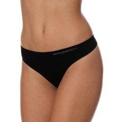Stringi damskie Brubeck Comfort Cotton TH00182 czarne