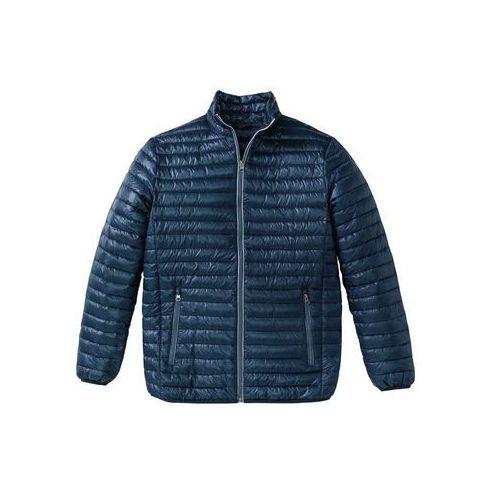 Kurtki męskie, Lekka kurtka pikowana Regular Fit bonprix niebieski