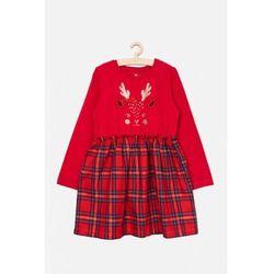 Świąteczna sukienka z reniferem 3K3914 Oferta ważna tylko do 2031-10-25