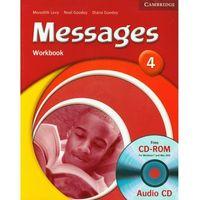 Książki do nauki języka, Messages, Level 4, Workbook (zeszyt ćwiczeń) with Audio CD (opr. miękka)