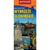 Mapy i atlasy turystyczne, Mapa turystyczna - Wybrzeże Słowińskie 1:65 000 - Praca zbiorowa (opr. broszurowa)