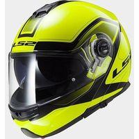 Kaski motocyklowe, KASK LS2 FF325 STROBE CIVIK HI-VIS YELLOW/BLACK