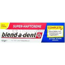 BLEND-A-DENT Extra Stark Original 47g - klej do protez o wzmocnionym działaniu (granatowy)