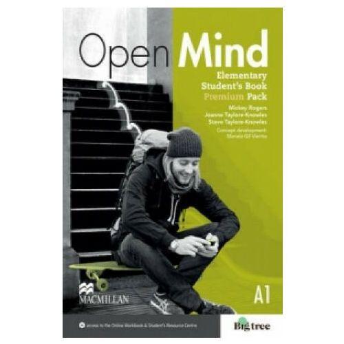 Książki do nauki języka, Open Mind Elementary. Podręcznik (Premium) (opr. miękka)