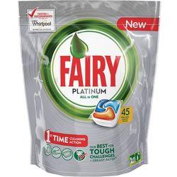 Tabletki do zmywarki FAIRY Platinum Orange (45 sztuk) + Zamów z DOSTAWĄ W PONIEDZIAŁEK!
