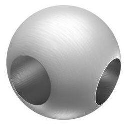 Łączniknarożny, kulka AISI304, D25/d10mm/90°
