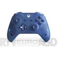 Gamepady, Kontroler bezprzewodowy MICROSOFT WL3-00146 Sport Blue do Xbox One