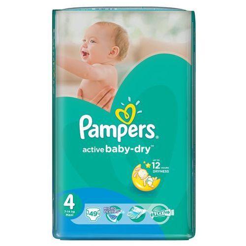 Pieluchy jednorazowe, Pampers Pieluchy Active Baby Dry 4 Maxi (49 szt.)