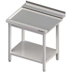 Stół wyładowczy lewy z półką do zmywarki kapturowej Silanos 800x740x880 mm | STALGAST, 982457080