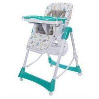 Krzesełka do karmienia, Krzesełko do karmienia Sun Baby Laura Niebieska