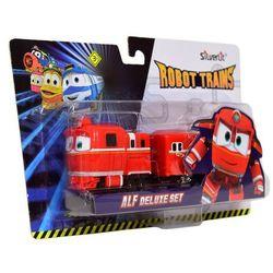 Robot Trains Pojazd z wagonem Alf Deluxe Set