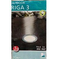 Lampy ścienne, EGLO 86188 - Kinkiet zewnętrzny RIGA 3 1xE27/15W czarny