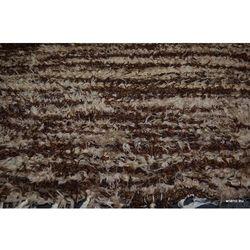 Chodnik bawełniany ręcznie tkany biało-ecru 65x150 cm