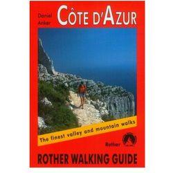 Lazurowe Wybrzeże Bergverlag Rother Cote D'Azur (opr. miękka)