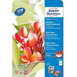 Papier fotograficzny Premium 250g 210 x 297mm 20 arkuszy Avery Zweckform 2556-20