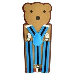 Praktyczne szelki dziecięce w niebieskim kolorze - Niebieski