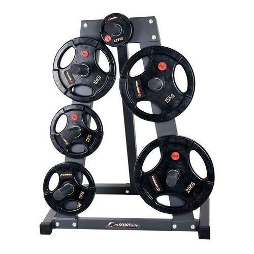 Pozostałe do siłowni, Stojak na obciążęnia olimijskie inSPORTline 50mm-PR5010