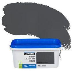 Farba wewnętrzna do ścian i sufitów EMULSJA 2.5 l Szlachetny grafit LUXENS