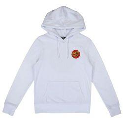 bluza SANTA CRUZ - Classic Dot Hood White (WHITE) rozmiar: 6