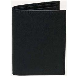 portfel REELL - Trifold Leather Black Black (Black )