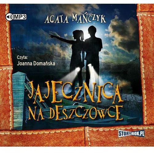 Książki dla młodzieży, Jajecznica na deszczówce audiobook (opr. kartonowa)