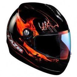 Kask motocyklowy LAZER VERTIGO Magfire czarny/czerwony