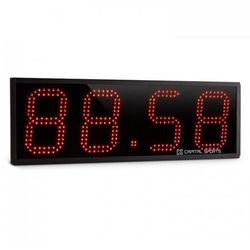 Timeter czasomierz sportowy stoper tabata sekundomierz Cross-Training 4-cyfrowy sygnał dźwiękowy