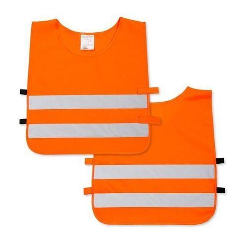Pozostała odzież dziecięca, Kamizelka odblaskowa dla dzieci XS 90-110cm - xs \ pomarańczowy