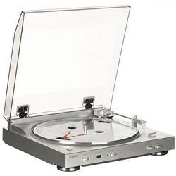 Gramofon Denon DP-200USB Srebrny DP-200USB srebrno-złoty - odbiór w 2000 punktach - Salony, Paczkomaty, Stacje Orlen
