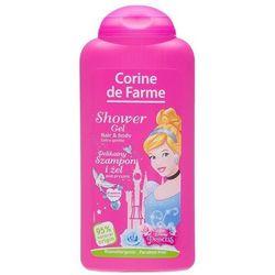 Corine de Farme Disney Księżniczki, Żel pod prysznic i szampon 2w1, 250ml