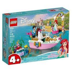 Lego Disney Princess: Świąteczna łódź Arielki (43191). Wiek: 4+