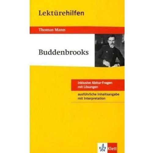 Pozostałe książki, Lektürehilfen Thomas Mann 'Buddenbrooks' Müller, Solvejg
