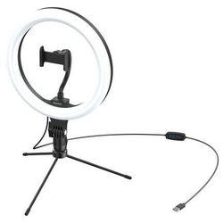 Statyw Baseus Livestream holder-table, obręcz świetlna 10'' (czarny)