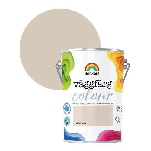 Farby, Farba lateksowa Beckers Vaggfarg Colour caffe latte 5 l