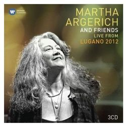 Martha Argerich - LIVE FROM LUGANO FESTIVAL 2012 (LIMITED)
