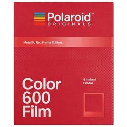Polaroid Originals 600 Color Metalic Red wkład do aparatu Polaroid z metaliczno-czerwonymi ramkami