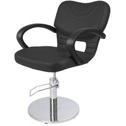 Panda BETTY XC Fotel fryzjerski czarny skaj 111, dostępny w 48H