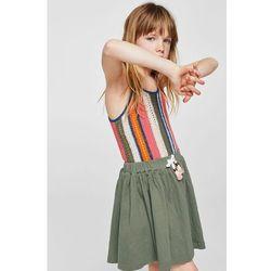 Mango Kids - Spódnica dziecięca Bambu 104-164 cm