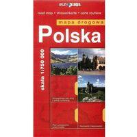 Mapy i atlasy turystyczne, Polska mapa drogowa 1:750 000 (opr. miękka)