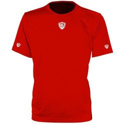 TTK CREW IRIDIUM RED - koszulka tenisowa R. S