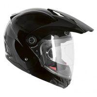 Kaski motocyklowe, KASK OZONE BLACK OPEN FACE CITY-01 Z PINLOCK
