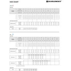 Kitel medyczny męski, rozmiar L, biały | KARLOWSKY, Basic