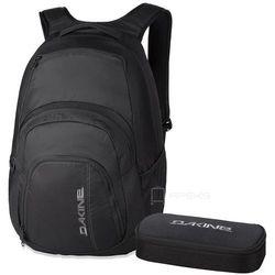 """Dakine Campus 33L plecak miejski na laptopa 15"""" + piórnik GRATIS / Black - Black"""