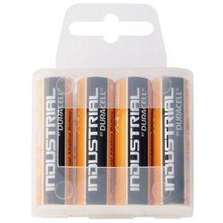 4 x bateria alkaliczna Duracell Industrial LR6 AA (taca)
