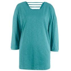 """Shirt z długim rękawem """"Minnie"""" bonprix jasnoszary melanż """"Minnie"""""""