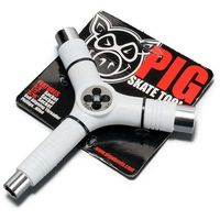 Pozostały skating, narzędzia PIG WHEELS - Tri-Socket Threader Tool White (WHITE) rozmiar: OS