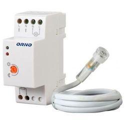 Czujnik zmierzchowy ORNO OR-CR-219 + sonda Biały